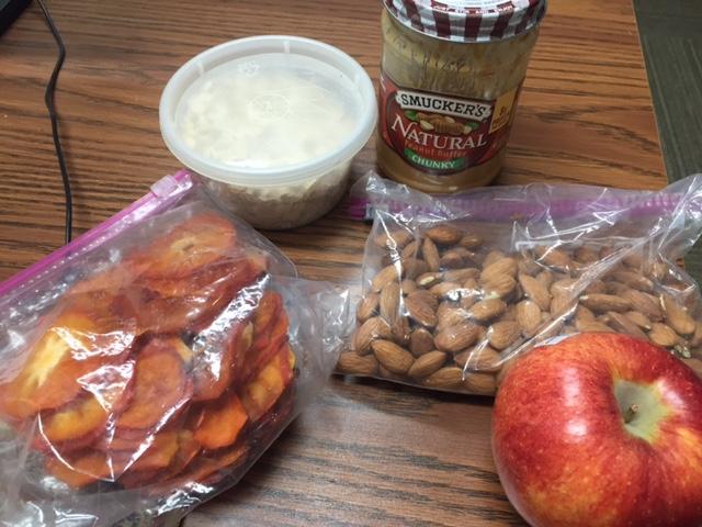 desk drawer snacks